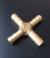 Латунный фитинг для шланга 10 (крестовина)